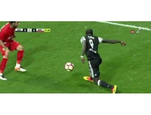 Aboubakar de�il Ronaldinho!