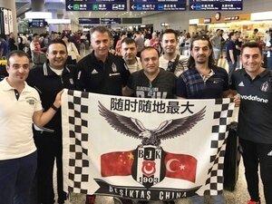 Beşiktaşımız bir kez daha Çin'e gidiyor