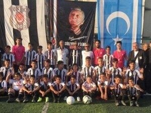 Kerkük'te Beşiktaş Futbol Okulu açıldı!